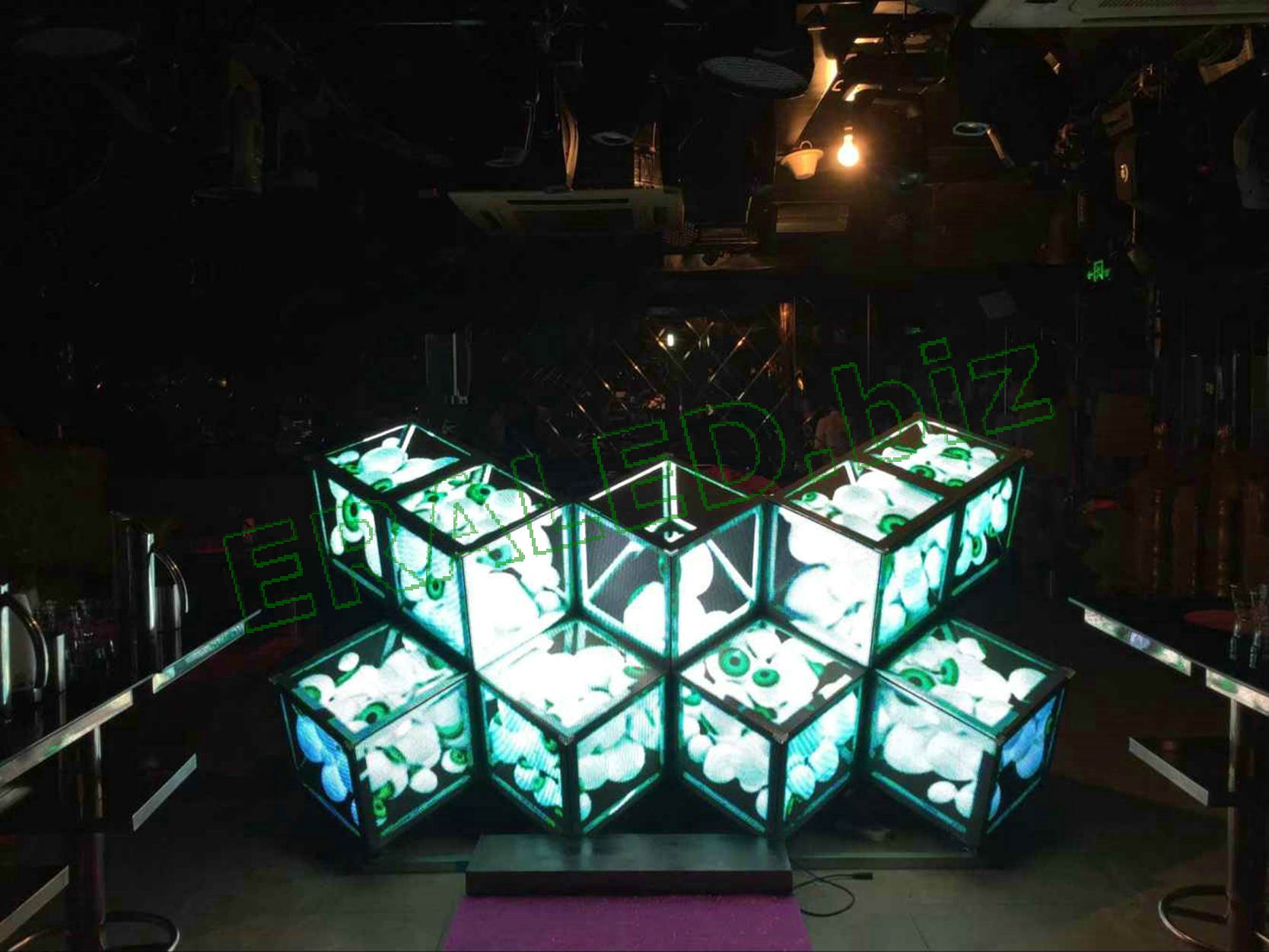 Magic cube LED display