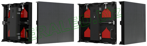 Outdoor UHD with Die-casting aluminum cabinet:P3.2 SMD2020,scanning method:1/13,78×78,500×500mm cabinet size