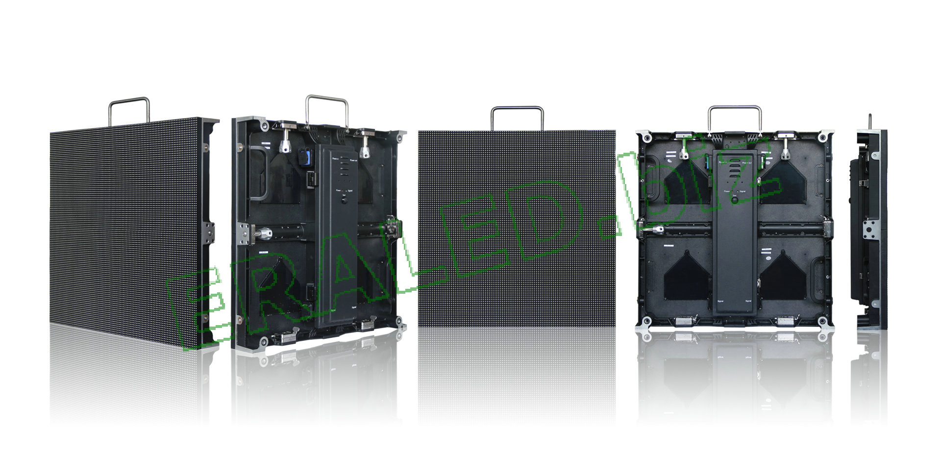 Outdoor UHD with Die-casting aluminum cabinet:P4.81 SMD2727,scanning method:1/13,52×52,500×500mm cabinet size