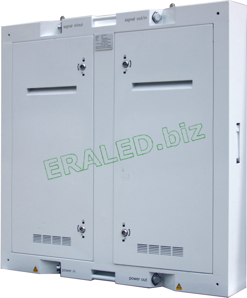 standard waterproof cabinet with backdoor and aviation plug