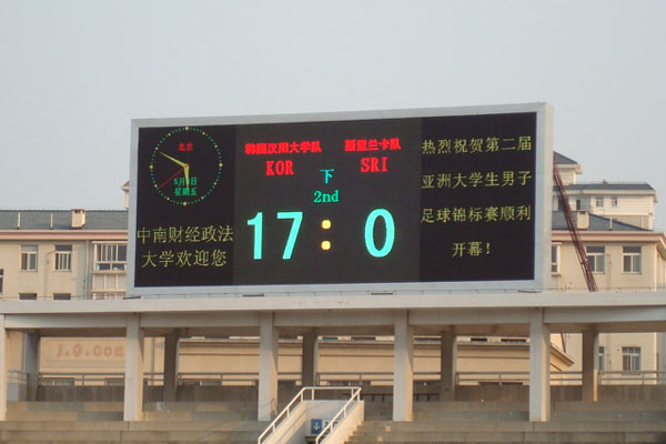 P25 double color message LED display screen