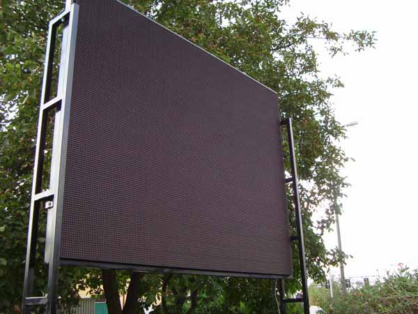 Billboards ad. LED display screen