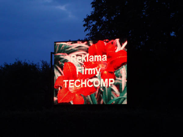 Billboards ad. LED display