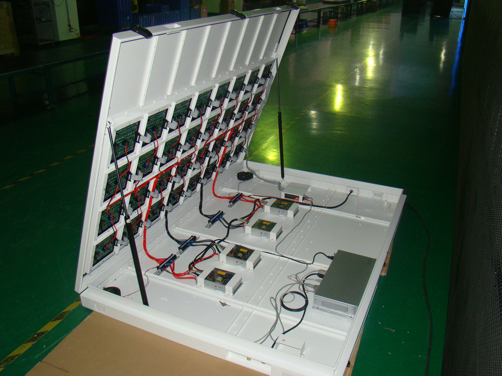 Front maintainance/maintained LED Display screen