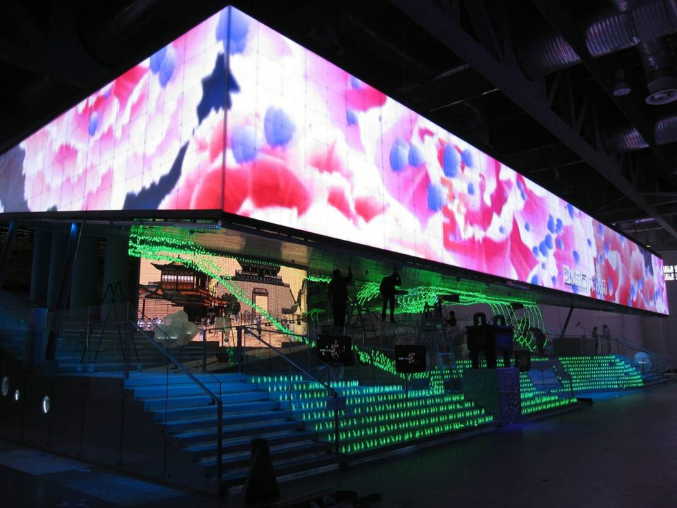 Outdoor fixed led display for Exterior led screen