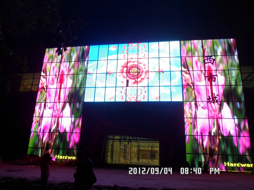 Special shape LED Display screen