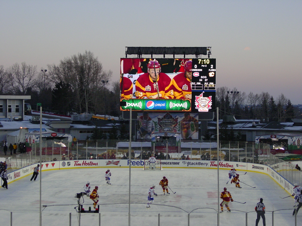 Ice Hockey Stadium LED Display screen