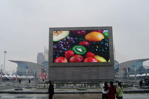 street installation LED display screen