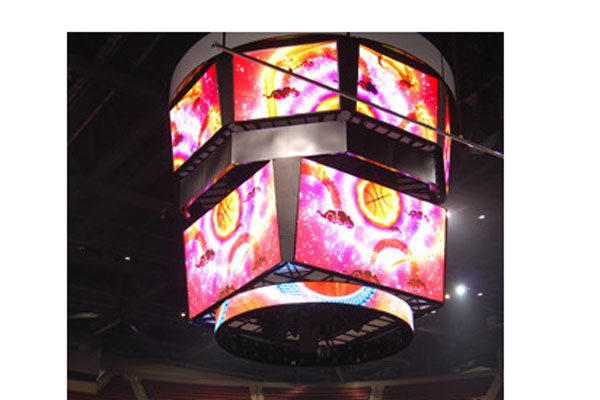 3-sided 3 side three side led display screen
